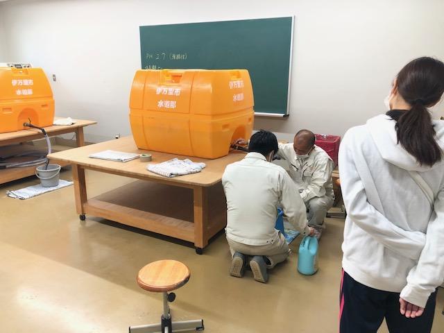 電解水装置設置001